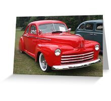 1948 Ford Greeting Card