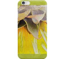 """""""Follow the Sun"""" Scarf~Textured Green Borders Plus More! iPhone Case/Skin"""