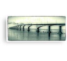 The Confederation Bridge Canvas Print