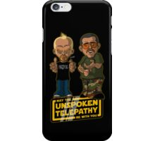 Unspoken Telepathy iPhone Case/Skin