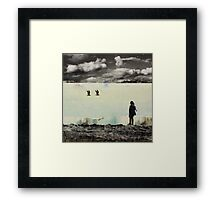 ANYWAY THE WIND BLOWS Framed Print