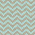 Bold Chevron Pattern 5 by Kat Massard