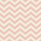 Bold Chevron Pattern 6 by Kat Massard