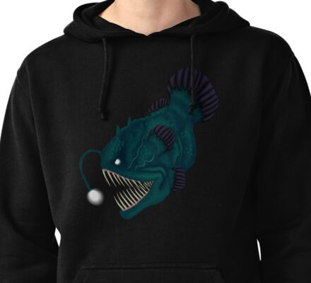 Angler Fish Pullover Hoodie