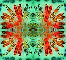 Headdress (Fossil Coral) by Stephanie Bateman-Graham