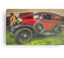 '30 Ford Delivery Metal Print