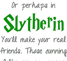 Slytherin by princessbedelia