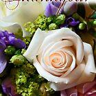 Vintage Rose Thank You! by James Stevens