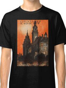 Vintage poster- Krakow Classic T-Shirt
