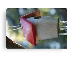 Birdhouse Canvas Print
