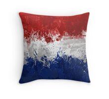 Netherlands Flag Throw Pillow