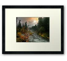 A Place in My Heart Framed Print