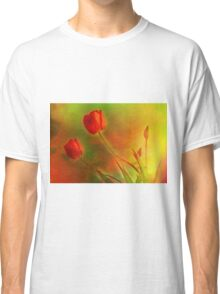"""Tulips (from """"Painted flowers"""" collection) Classic T-Shirt"""