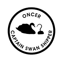 Captain Swan Logo Photographic Print