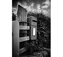 The old post box Photographic Print