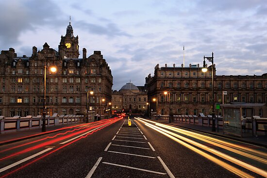 Edinburgh Traffic Trails 2 by Steve Jensen