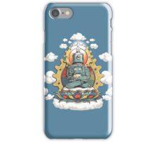 """Mr. Ohmz"" the Buddha Bot v6 iPhone Case/Skin"