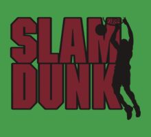 Basketball Slam Dunk Kids Tee