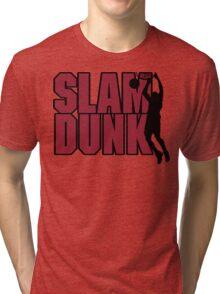 Basketball Slam Dunk Tri-blend T-Shirt