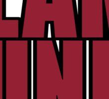 Basketball Slam Dunk Sticker