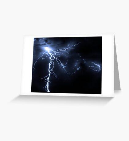 Thunder Greeting Card
