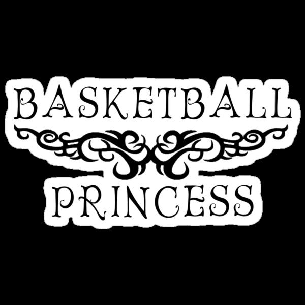 Basketball Princess by SportsT-Shirts