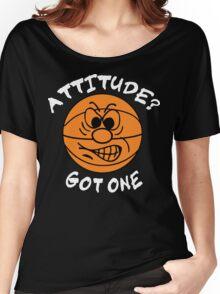 Basketball Attitude Dark Women's Relaxed Fit T-Shirt