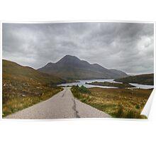Cul Beag & Loch Lurgainn Poster