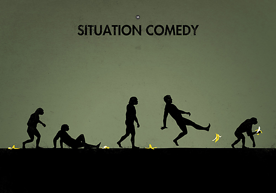 99 Steps of Progress - Situation comedy by maentis