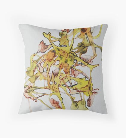 Personal Rorchach Throw Pillow