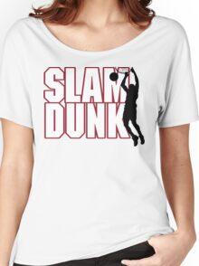 Basketball Slam Dunk Women's Relaxed Fit T-Shirt