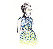 Delpozo Fall 2015 Fashion Illustration Photographic Print