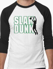 Basketball Slam Dunk Men's Baseball ¾ T-Shirt