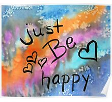 Just Be Happy Poster