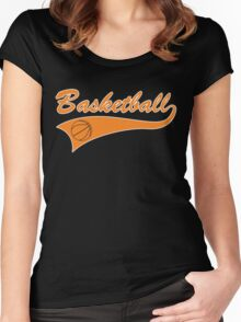 Basketball Women's Fitted Scoop T-Shirt