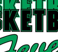 Basketball Fever Sticker