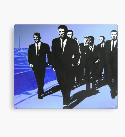 The Rat Pack - Blue Canvas Print