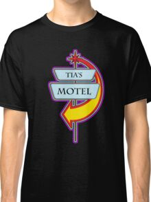 Tia's Motel campy truck stop tee  Classic T-Shirt