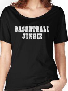 Basketball Junkie Women's Relaxed Fit T-Shirt