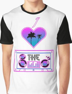 I love the 80's Graphic T-Shirt