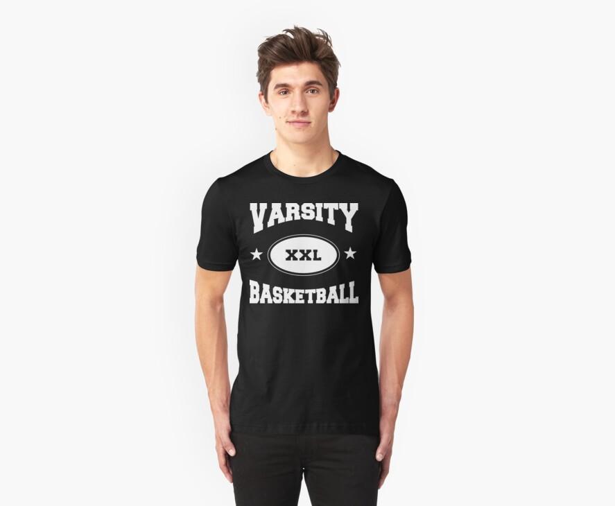 Varsity Basketball by SportsT-Shirts