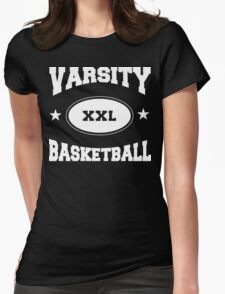 Varsity Basketball Womens Fitted T-Shirt