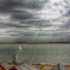 Mersea Island Sea Front by Nigel Bangert