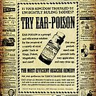 Ear Poison Advertisement by Laura Guzzo