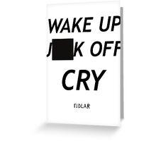FIDLAR as seen on TV censored Greeting Card
