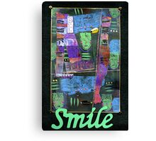 SMILE Banner Canvas Print