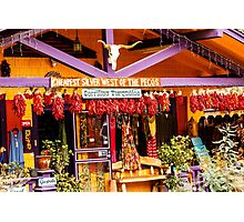 Chili Pepper Storefront Photographic Print