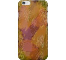 Brush Strokes in Oranges iPhone Case/Skin