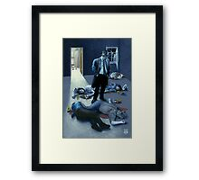 Detective Horatio Framed Print