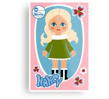 Nancy Doll Metal Print